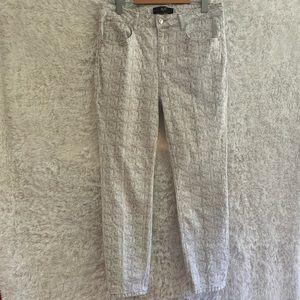 Versace 19•69 Italia Snake Skin Printed Cotton Pants.